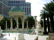 ME-Paint-Green-Patina-on Dome at Caesar's Palace, Las Vegas