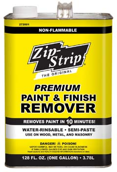ZIP STRIP 272001 PREMIUM PAINT AND FINISH REMOVER SIZE:1 GALLON PACK:2 PCS.