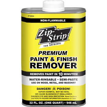 ZIP STRIP 272004 PREMIUM PAINT AND FINISH REMOVER SIZE:QUART PACK:6 PCS.