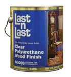 ABSOLUTE COATINGS 50001 LAST N LAST POLYURETHANE WOOD FINISH GLOSS SIZE:1 GALLON.