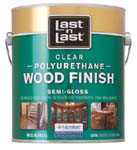 ABSOLUTE COATINGS 53201 LAST N LAST POLYURETHANE WOOD FINISH SEMI GLOSS 450 VOC SIZE:1 GALLON.