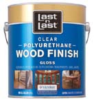 ABSOLUTE COATINGS 53501 LAST N LAST POLYURETHANE WOOD FINISH GLOSS 350 VOC SIZE:1 GALLON.