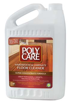 ABSOLUTE COATINGS 70001 POLYCARE FLOOR CLEANER  CONCENTRATE SIZE SIZE:1 GALLON.