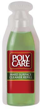 ABSOLUTE COATINGS 70013 POLYCARE HARD SURFACES FLOOR CLEANER SIZE:1 OZ. PACK:12 PCS.