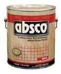 ABSOLUTE COATINGS 89511 ABSCO POLYURETHANE WOOD FLOOR FINISH SATIN 350  VOC SIZE:1 GALLON.