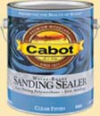 CABOT STAIN 8064 CLEAR WATERBORNE SANDING SEALER SIZE:1 GALLON.
