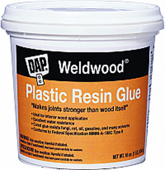 DAP 00204 WELDWOOD PLASTIC RESIN GLUE SIZE:4.5 LB.
