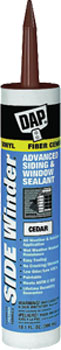 DAP 00823 SIDE WINDER ADVANCED POLYMERY SIDING & WINDOW SEALANT CEDAR SIZE:10.1 PACK:12 PCS.