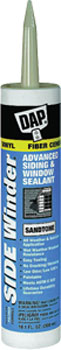 DAP 00849 SIDE WINDER ADVANCED POLYMERY SIDING & WINDOW SEALANT SANDTONE SIZE:10.1 OZ PACK:12 PCS.