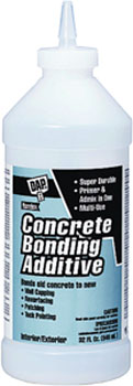 DAP 02131 CONCRETE BONDING ADDITIVE SIZE:QUART.