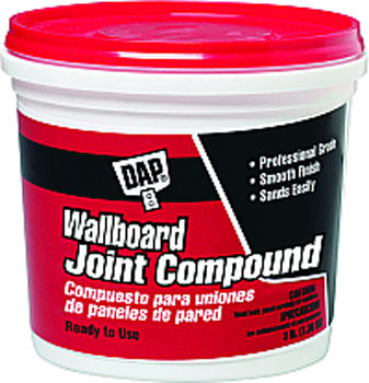 DAP 10100 WALLBOARD JOINT COMPOUND (RTU) SIZE:3 LBS.