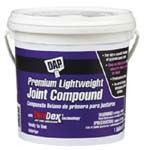 DAP 10120 PREMIUM LIGHTWEIGHT JOINT COMPOUND WITH DRYDEX TIME INDICATOR SIZE:1 GALLON.