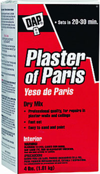 DAP 10308 PLASTER OF PARIS (DRY MIX) SIZE:4 LBS.