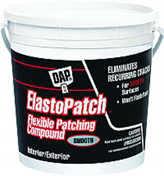 DAP 12280 ELASTOPATCH SMOOTH FLEXIBLE PATCHING COMPOUND (RTU) SIZE:1 GALLON.
