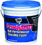 DAP 12380 CRACKSHOT HIGH PERFORMANCE SPACKLING PASTE SIZE:1 GALLON.