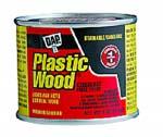 DAP 21434 PLASTIC WOOD SOLVENT WOOD FILLER WALNUT SIZE:4 OZ PACK:12 PCS.