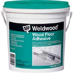 DAP 25133 WELDWOOD WOOD FLOOR ADHESIVE SIZE:1 GALLON.