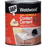 DAP 25312 WELWOOD GEL FORMULA CONTACT CEMENT SIZE:QUART.