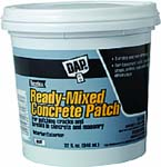 DAP 31084 READY-MIXED CONCRETE PATCH SIZE:QUART.
