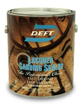 DEFT 01501 LACQUER SANDING SEALER SIZE:1 GALLON.