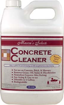 DUCKBACK DB-6500-4 CONCRETE CLEANER MASON'S SELECT CONCRETE CLEANER SIZE:1 GALLON.