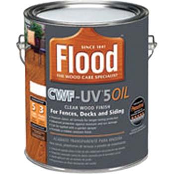 FLOOD FLD144 CWF-UV5 OIL CLEAR TINT BASE 350 VOC SIZE:1 GALLON.