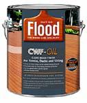 FLOOD FLD447 CWF OIL CLEAR 350 VOC SIZE:1 GALLON.