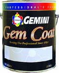 GEMINI 162-1 GEM COAT WATER CLEAR SEMI-GLOSS LACQUER SIZE:1 GALLON.