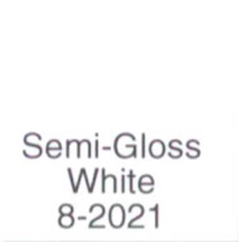 MAJIC 70218 8-2021 SPRAY ENAMEL SEMI GLOSS WHITE RUST KILL SIZE:12 OZ.SPRAY.