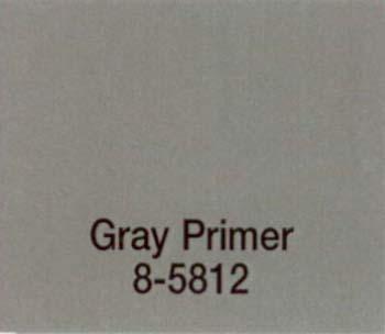 MAJIC 58124 8-5812 GRAY PRIMER MAJIC RUSTKILL ENAMEL SIZE:1/2 PINT.