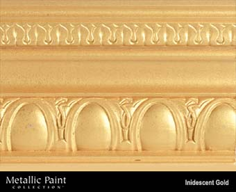 MODERN MASTERS METALLIC PAINT 19432 ME-194 IRIDESCENT GOLD NT SIZE:QUART