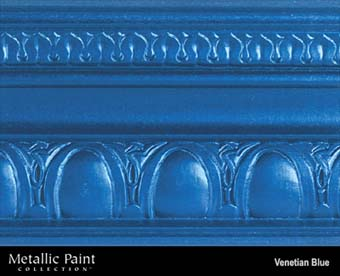 MODERN MASTERS METALLIC PAINT 99835 ME-429 VENETIAN BLUE SIZE:6 OZ.
