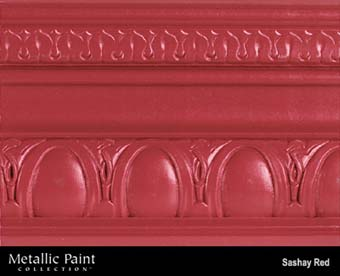 MODERN MASTERS METALLIC PAINT 99831 ME-513 SASHAY RED SIZE:QUART.