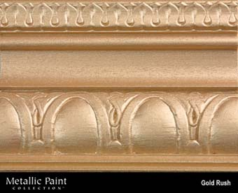 MODERN MASTERS METALLIC PAINT 92015 ME-658 GOLD RUSH SIZE:QUART.