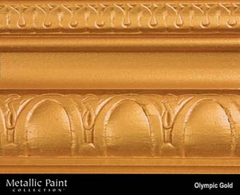 MODERN MASTERS METALLIC PAINT 92026 ME-659 OLYMPIC GOLD SIZE:6 OZ.