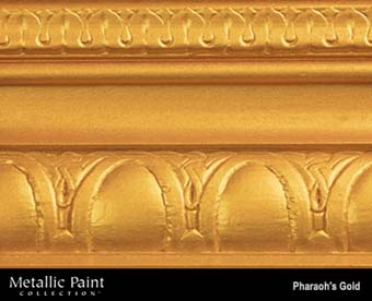 MODERN MASTERS METALLIC PAINT 92027 ME-660 PHARAOHS GOLD SIZE:6 OZ.