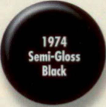 RUSTOLEUM 19745 1974502 SEMI GLOSS BLACK PAINTERS TOUCH SIZE:QUART.