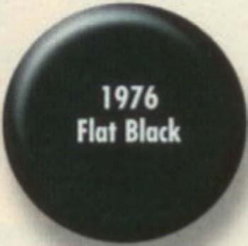 RUSTOLEUM 19767 1976730 FLAT BLACK PAINTERS TOUCH SIZE:1/2 PINT PACK:6 PCS.