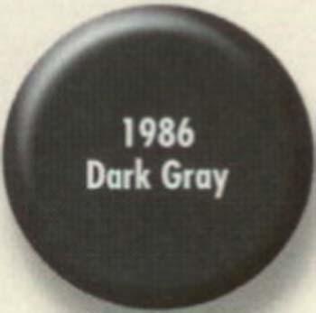 RUSTOLEUM 19868 1986830 SPRAY PAINT DARK  GRAY PAINTERS TOUCH SIZE:12 OZ. SPRAY PACK:6 PCS.
