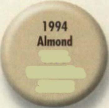 RUSTOLEUM 19947 1994730 ALMOND PAINTERS TOUCH SIZE:1/2 PINT PACK:6 PCS.