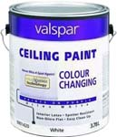 VALSPAR 1420 COLOR CHANGE LATEX CEILING PAINT SIZE:1 GALLON.