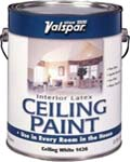 VALSPAR 1426 LATEX CEILING PAINT WHITE SIZE:1 GALLON.