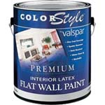 VALSPAR 26329 COLOR STYLE INT LATEX FLAT CLEAR BASE SIZE:1 GALLON.