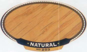 VARATHANE 12831 211755 NATURAL 203 OIL STAIN SIZE:1/2 PINT PACK:4 PCS.