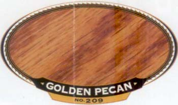 VARATHANE 12849 211932 GOLDEN PECAN 209 OIL STAIN SAMPLE PACK:40 PCS.