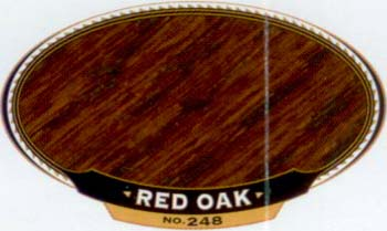 VARATHANE 12902 211945 RED OAK 248  OIL STAIN SAMPLE PACK:40 PCS.