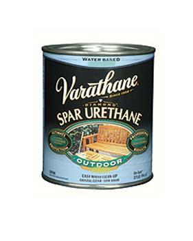 VARATHANE 25024 250241 CLEAR SATIN DIAMOND OUTDOOR WOOD CARE (WATERBORNE) SIZE:QUART.