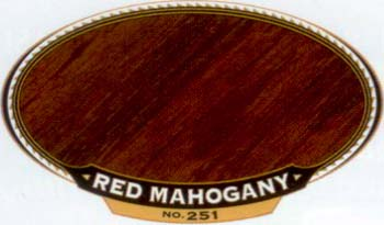VARATHANE 12903 211946 RED MAHOGANY 251 OIL STAIN SAMPLE PACK:40 PCS.