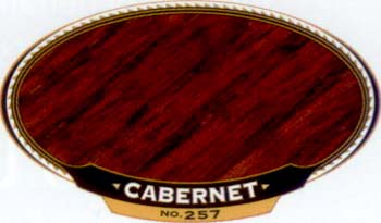 VARATHANE 12859 211803 CABERNET 257 OIL STAIN SIZE:1/2 PINT PACK:4 PCS.