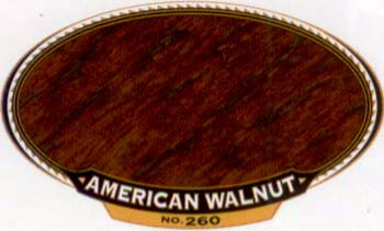 VARATHANE 12860 211804 AMERICAN WALNUT 260 OIL STAIN SIZE:1/2 PINT PACK:4 PCS.